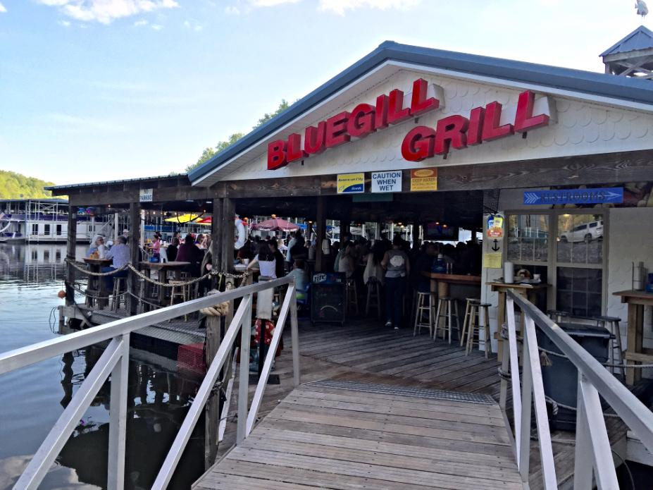 bluegill grill tims ford lake dickel drop
