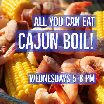 ALL YOU CAN EAT CAJUN BOIL SPECIAL BUFFET AT THE BLUEGILL GRILL TULLAHOMA TENNESSEE TIMS FORD LAKE